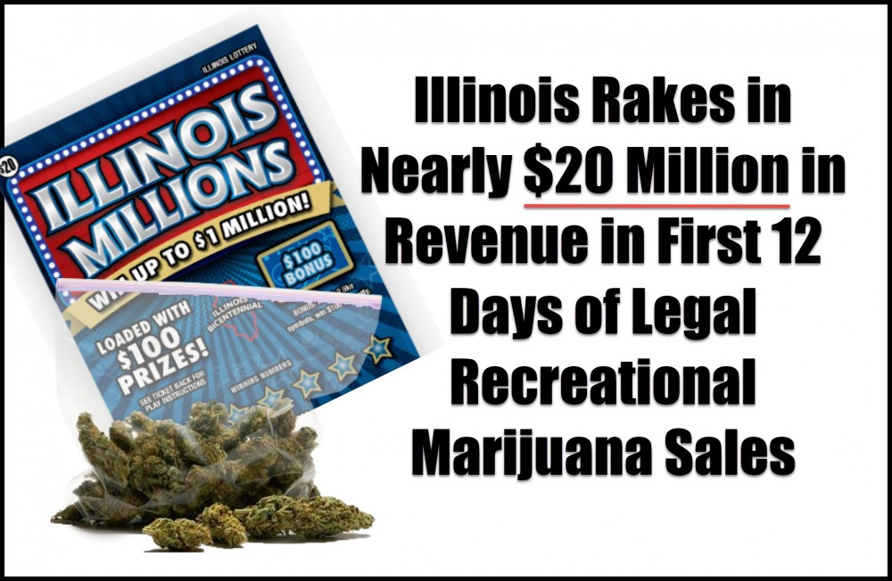 illinois recreational marijuana sales stats