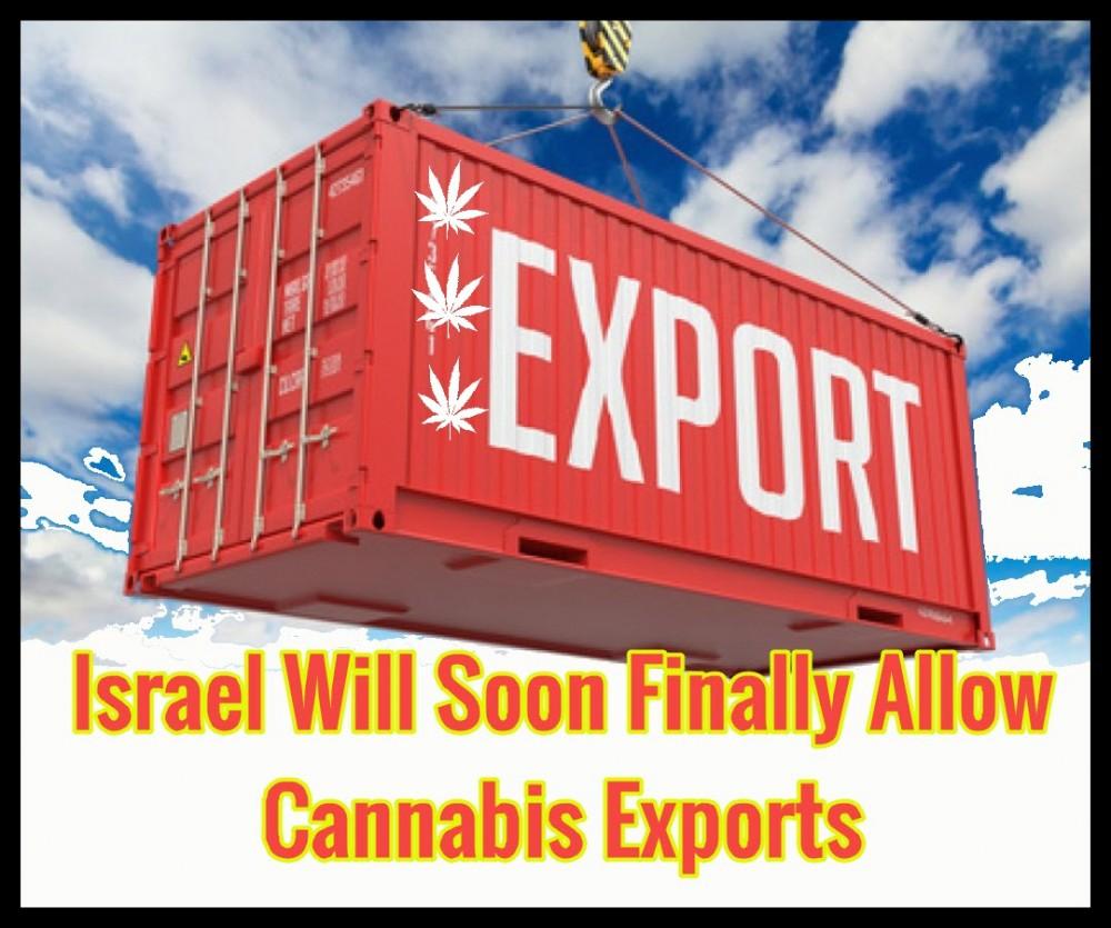 israel exporting cannabis
