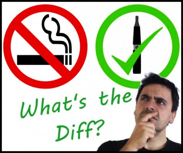 differences between smoking and vaping weed