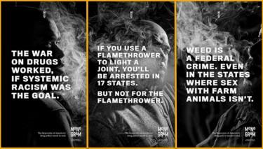 Jay-Z monogram ads