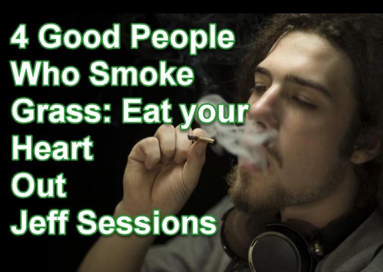 good people smoke grass