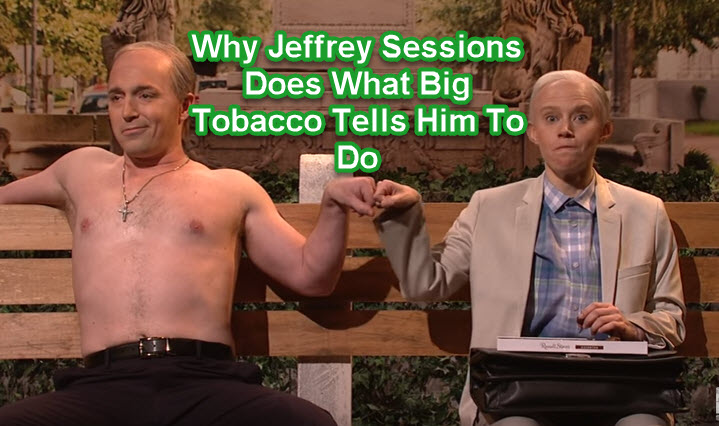 Jeff Sessions on big tobacco