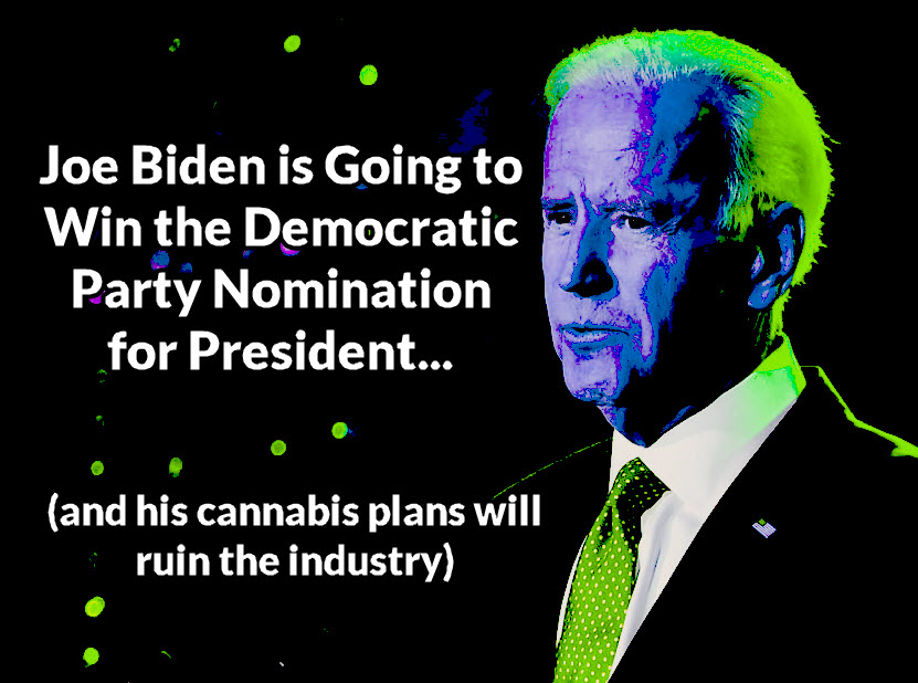 JOE BIDEN IS BAD FOR MARIJUANA IF ELECTED