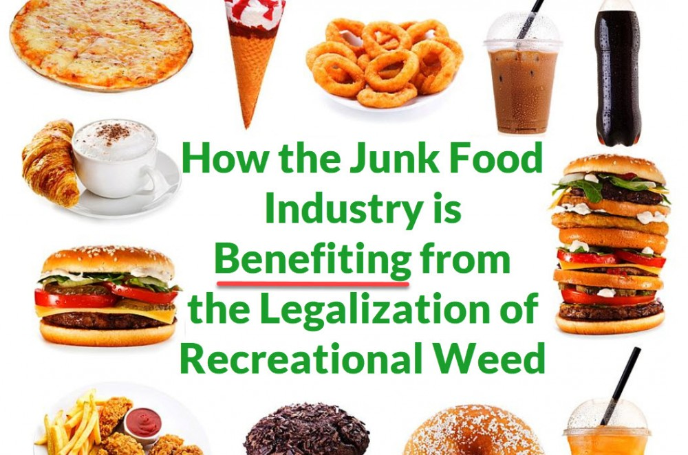 junk food and cannabis