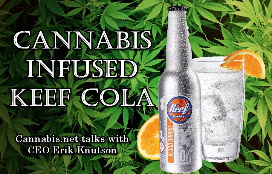 cannabis infused cola soda keef