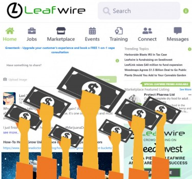Leafwire crowdfunding