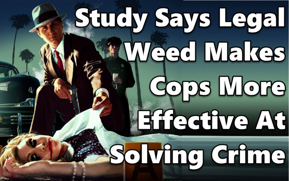 crime drops with cannabis and cops