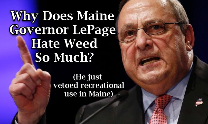GOVERNOR LEPAGE ON WEED