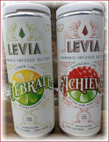 LEVIA MARIJUANA DRINKS