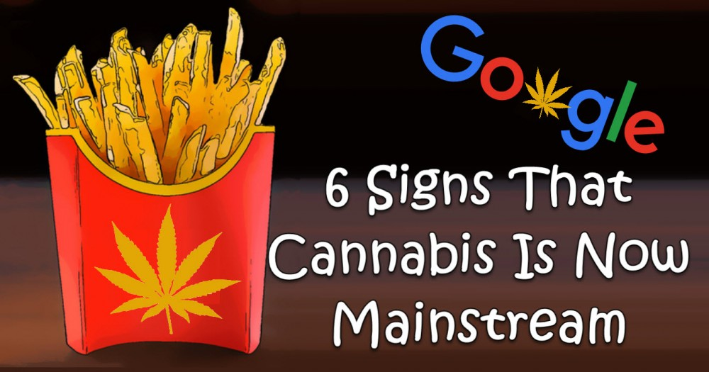 CANNABIS GOES MAINSTREAM