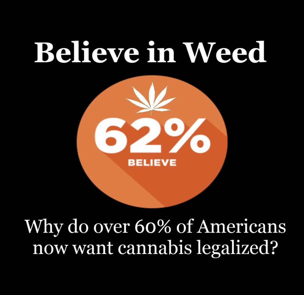 AMERICANS WANT LEGAL WEED