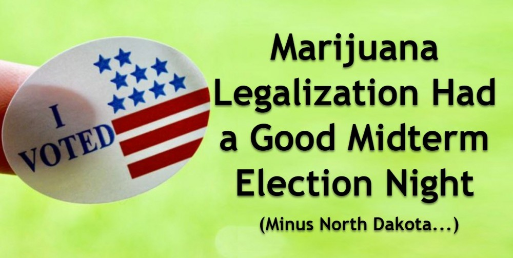 MARIJUANA MIDTERM VOTE MICHIGAN