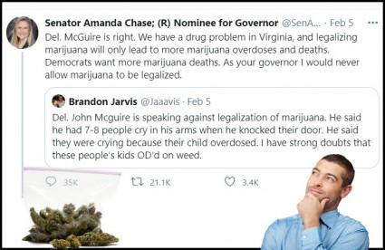 marijuana overdose on Twitter