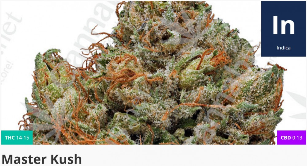 master kush strain for ptsd