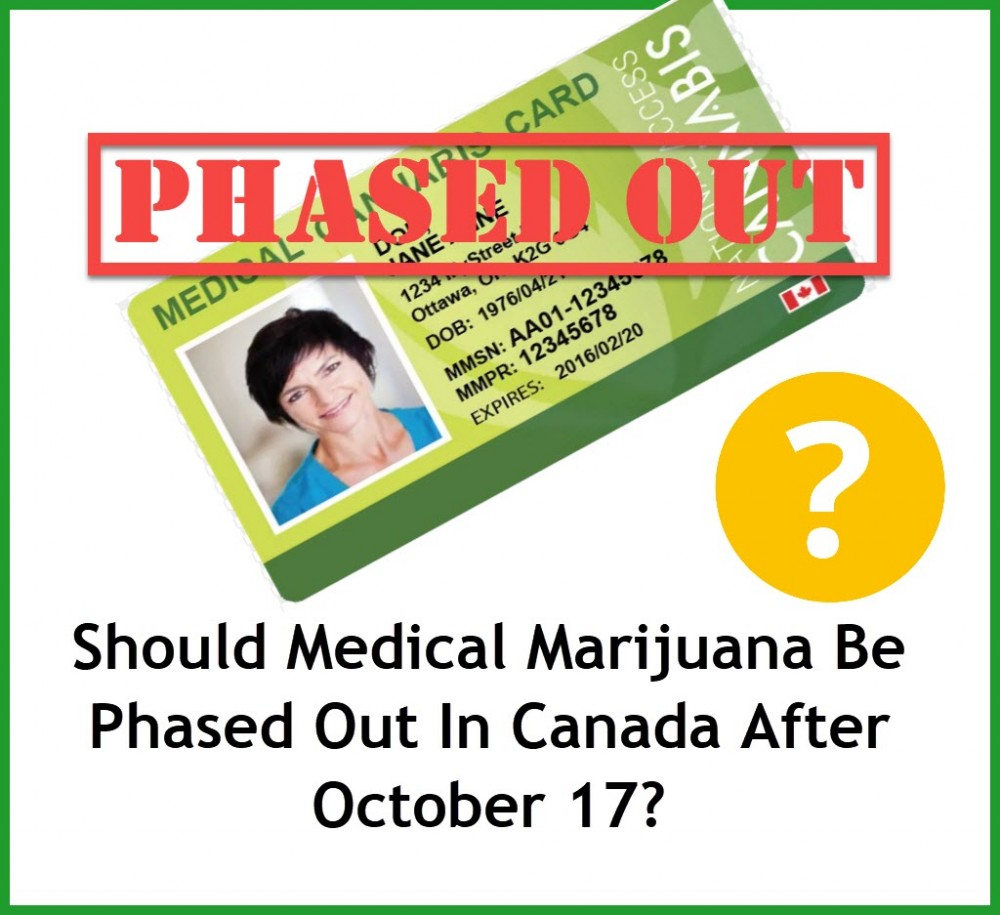 PHASE OUT MEDICAL MARIJUANA CARDS