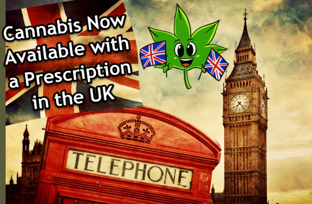 CANNABIS WITH A PRESCRIPTION IN ENGLAND