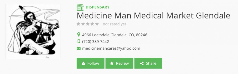 ANDY WILLIAMS MEDICINE MAN