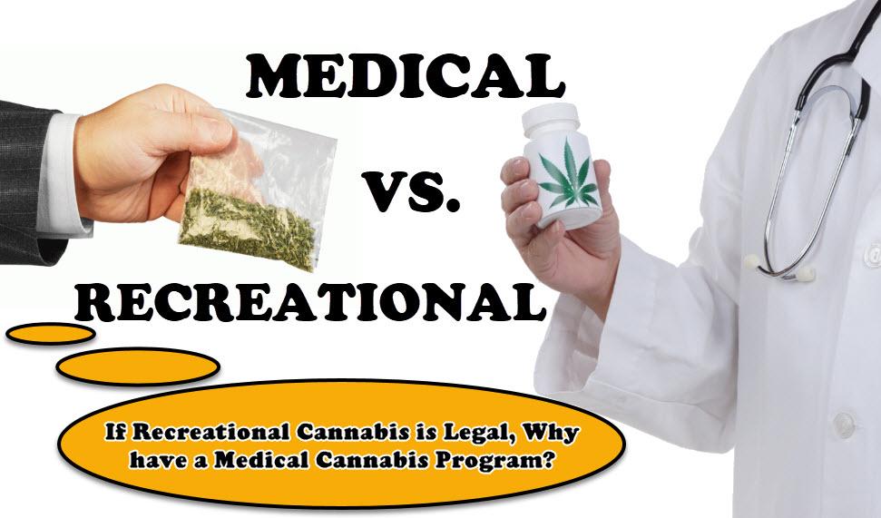 MEDICAL VS RECREATIONAL WEED