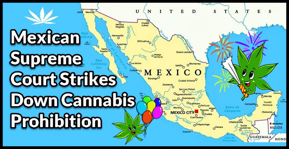 Mexican Supreme Court Legalizes Cannabis