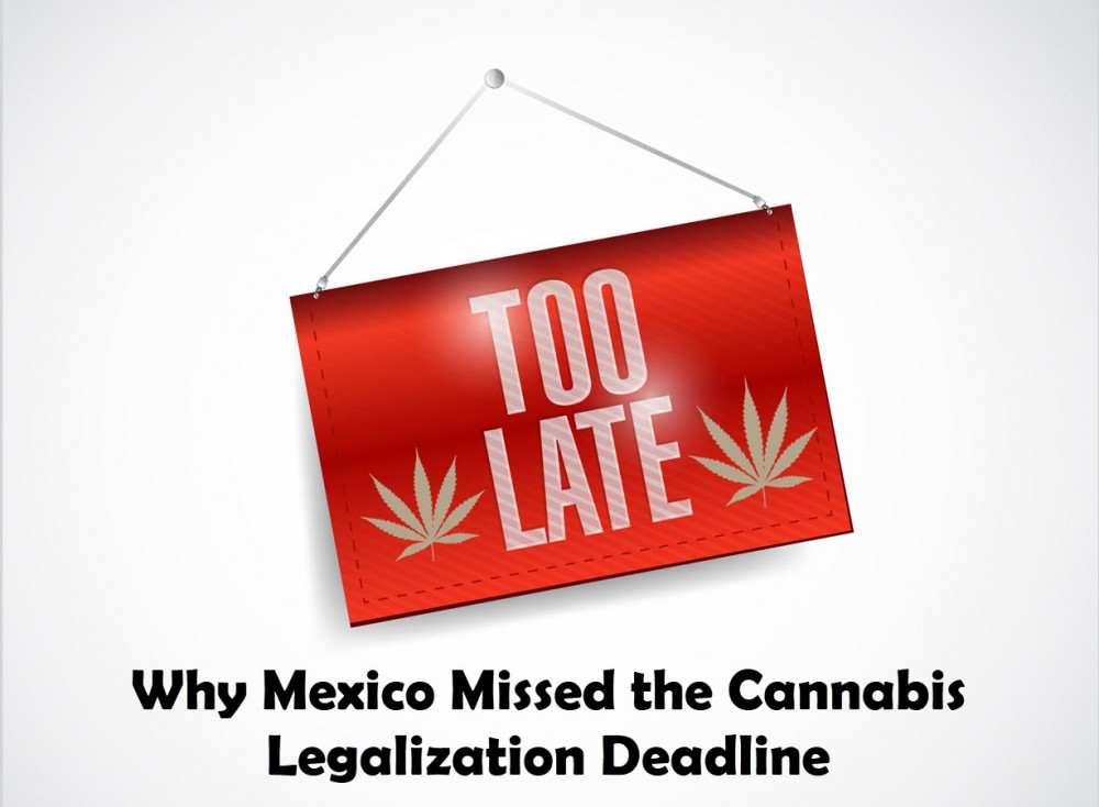 MEXICO MISSES CANNABIS DEADLINES