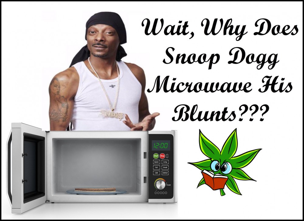 microwave a blunt