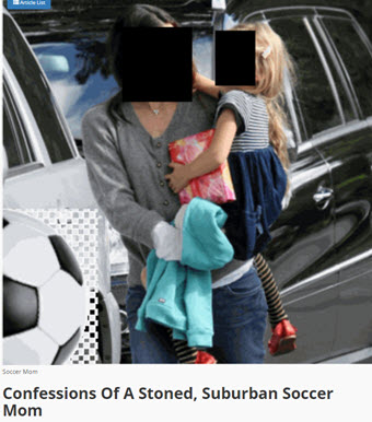 CONFESSIONS OF A STONED SOCCER MOM