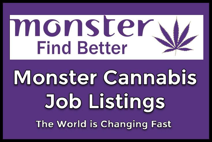 monster cannabis jobs