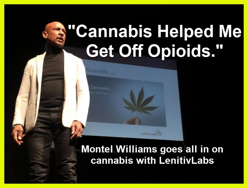 montel williams opiates and weed