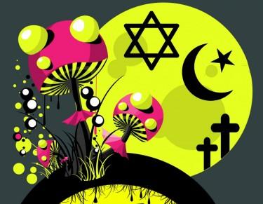 mushrooms and religious origins