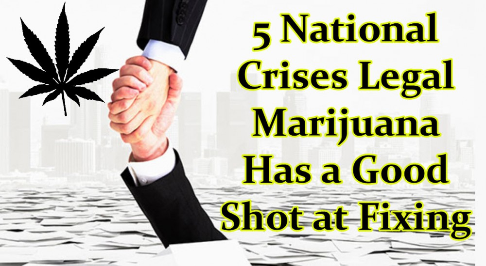 LEGALIZING MARIJUANA CAN FIX THESE CRISIS