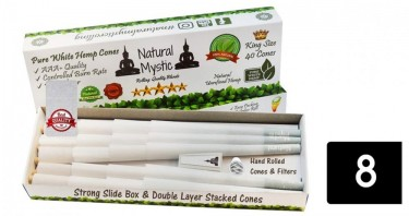 natural mystic rolling papers