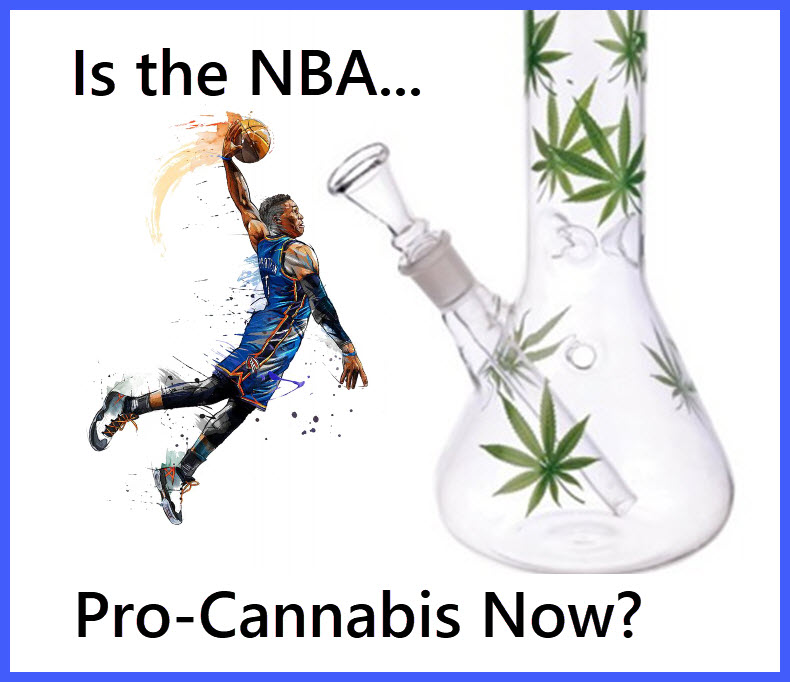 is the nba pro weed now