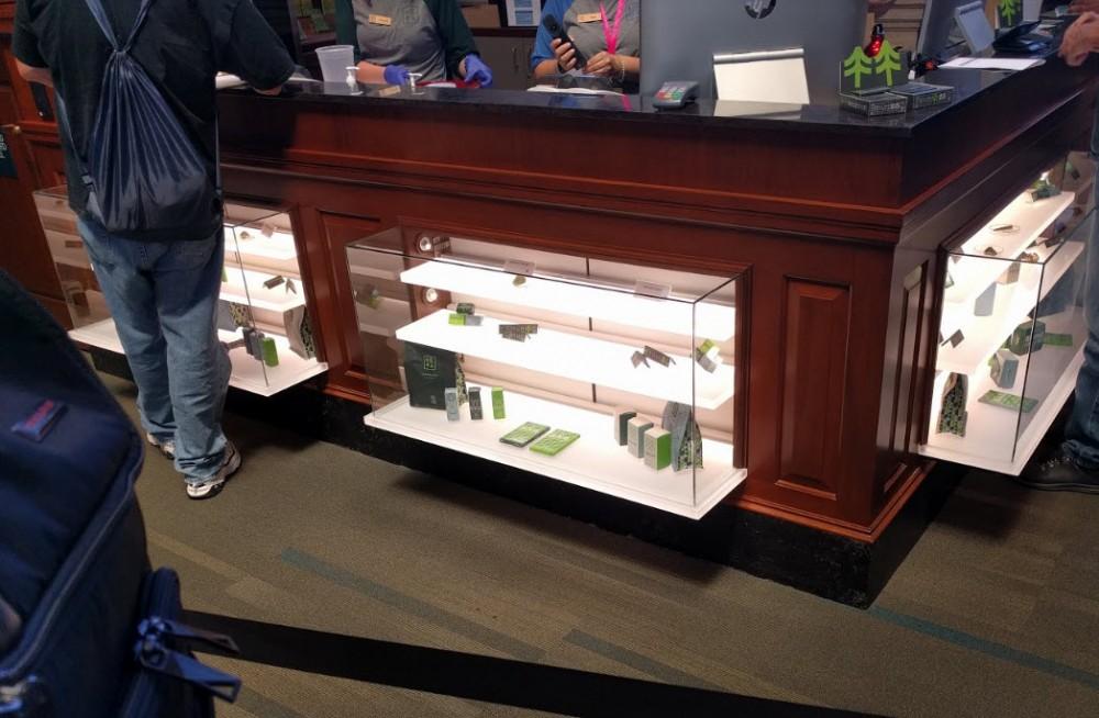 massachusetts dispensary display