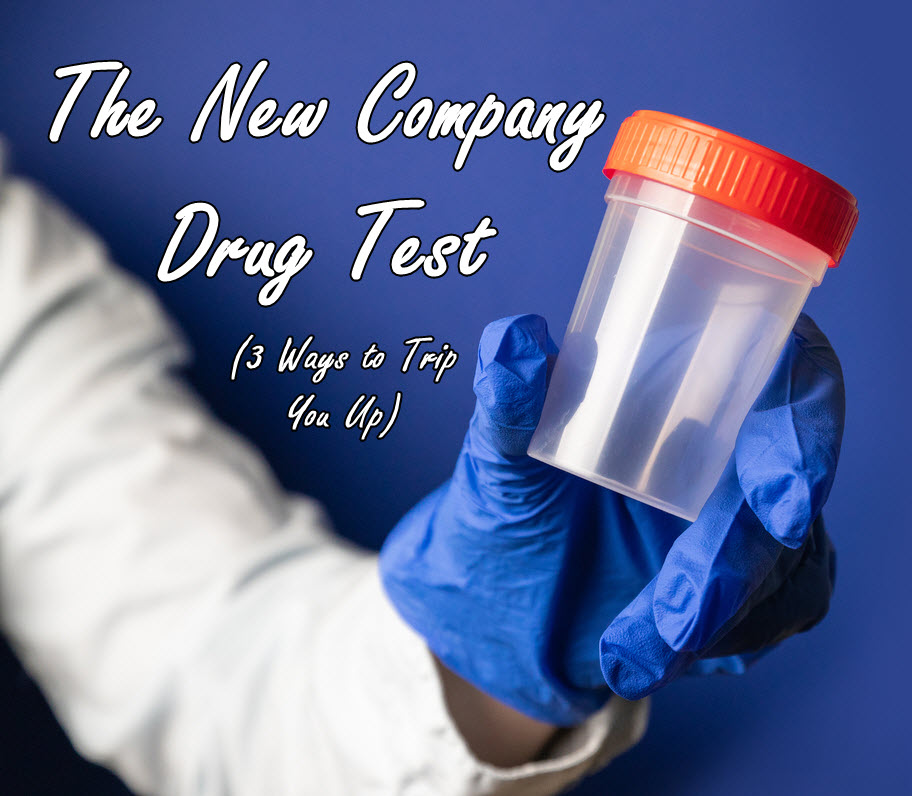 new drug test at work