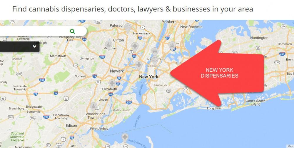 NEW YORK DISPENSARIES