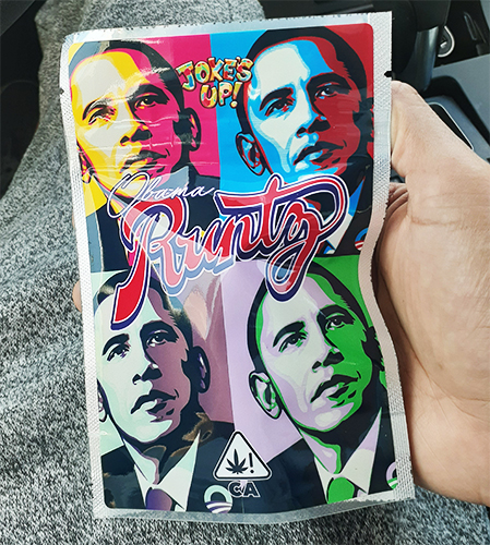 obama runtz jokes up - 10 Best Cannabis Strains from California in 2020