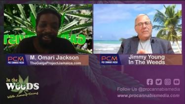 OMARI JACKSON ON JAMAICAN WEED