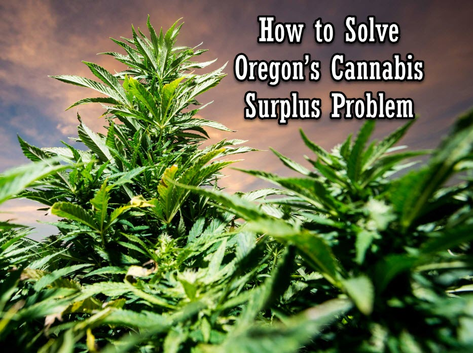 OREGONS CANNABIS SUPPLY PROBLEM