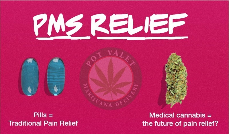 PMS RELIEF WITH MARIJUANA