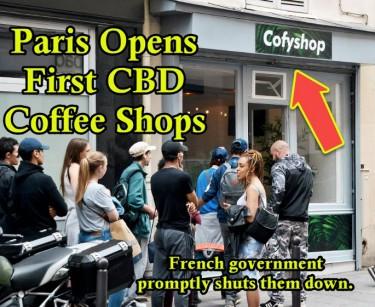 PARIS CBD COFFEE SHOP