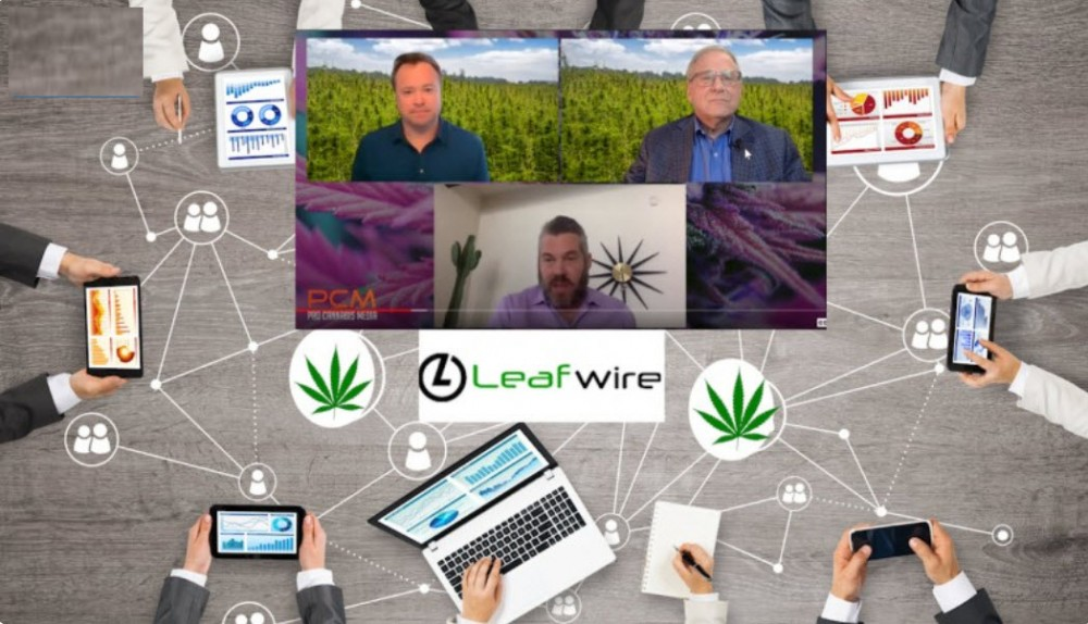 who is peter vogel of leafwire