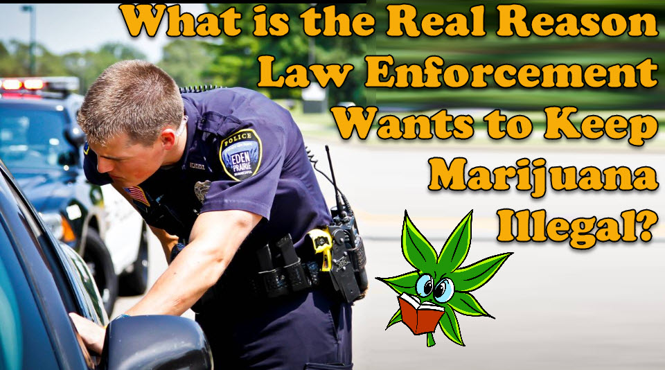 why police want weed illegal