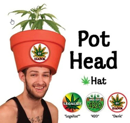pot head costume