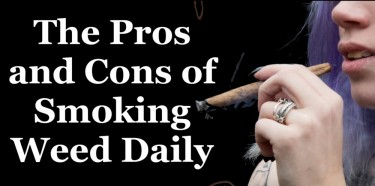 PROS AND CONS OF SMOKING WEED DAILY