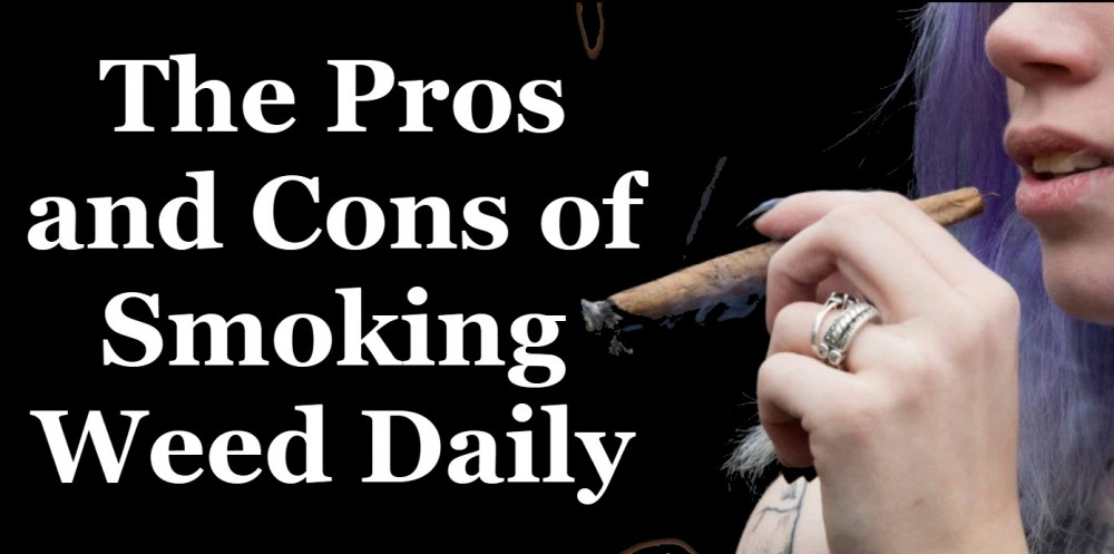 smoking weed pros and cons