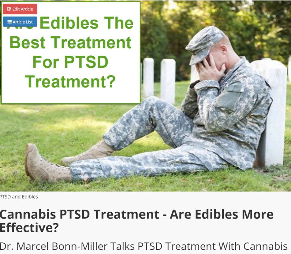 EDIBLES FOR PTSD
