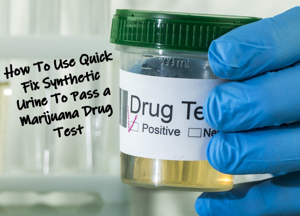drug tests synthetic urine
