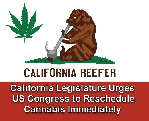 CALIFORNIA RESCHEDULES CANNABIS