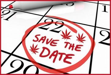 MARIJUANA LEGALIZATION DATES