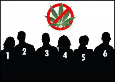 senators against weed